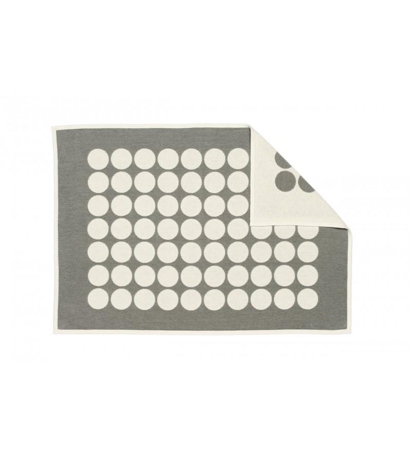 Pled z puszystej bawełny szenilowej o wymiarach 100x140cm, Pappelina, Pufa Design