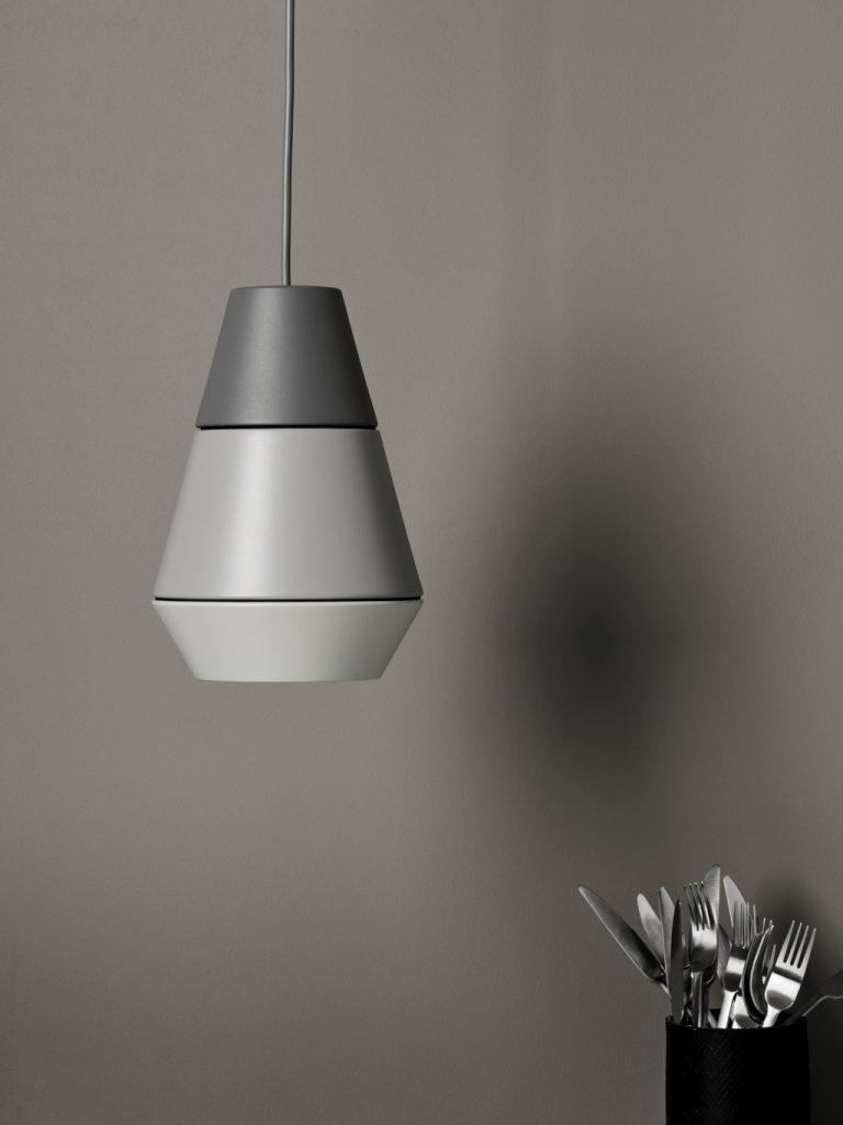 W tonacji ombre, seria lamp Ili Ili, Pufa Design