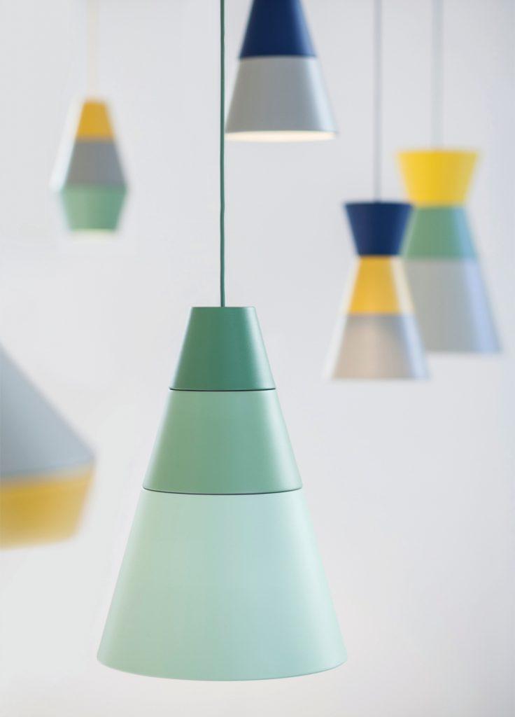 Sześć różnych modeli z rodziny Ili-Ili można ze sobą łączyć w wybrane kolorystycznie kompozycje, PufaDesign