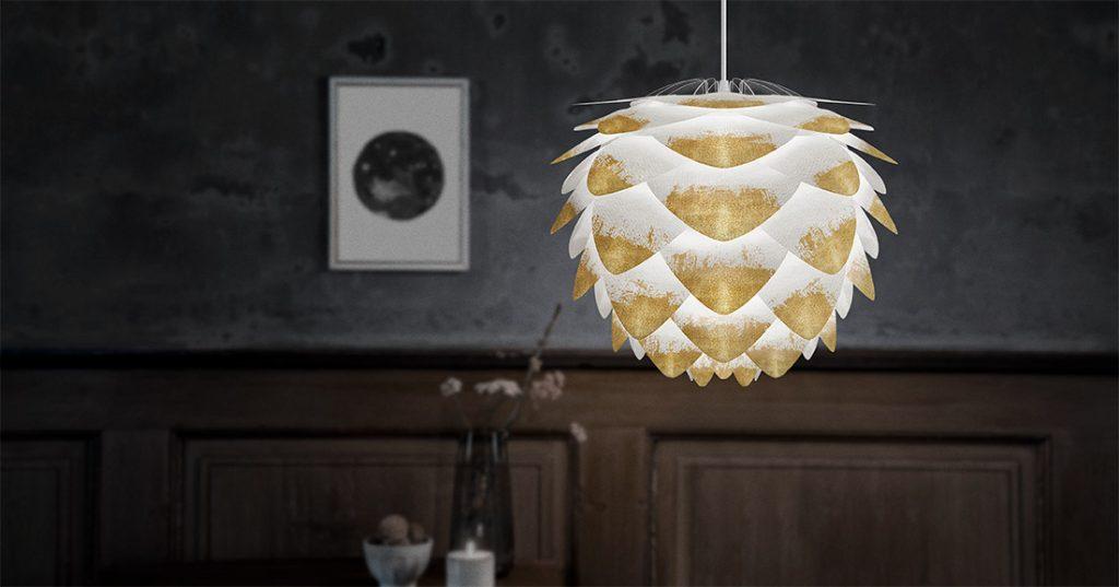Efekt końcowy zależy od koloru i wzoru użytego do kreacji lampy Silvia mini Create, Pufa Design