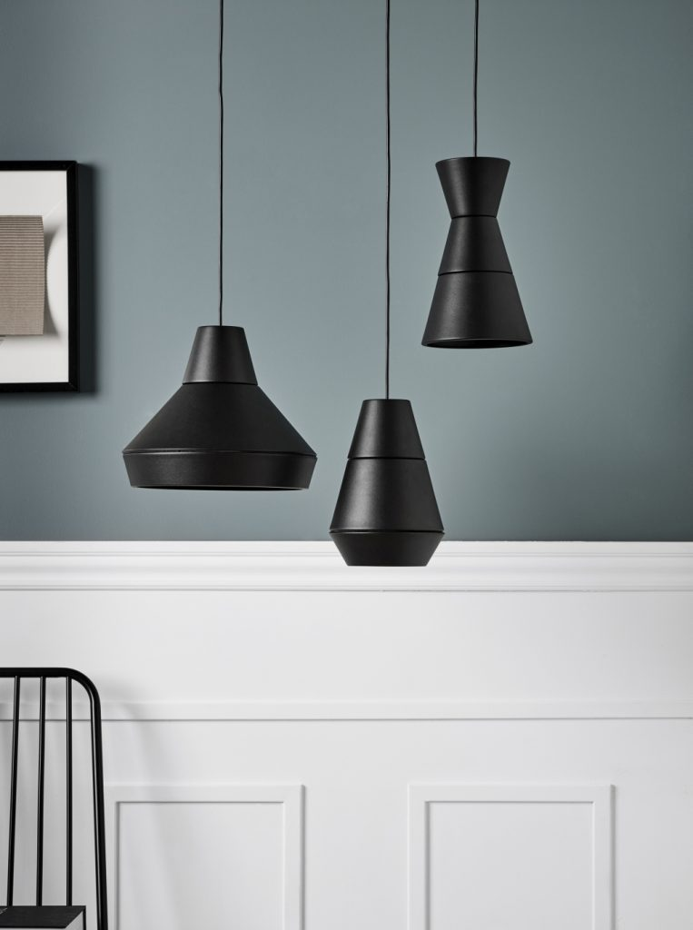 Lampy można zestawiać dowolnie kilka ze sobą, Ili Ili, Pufa Design