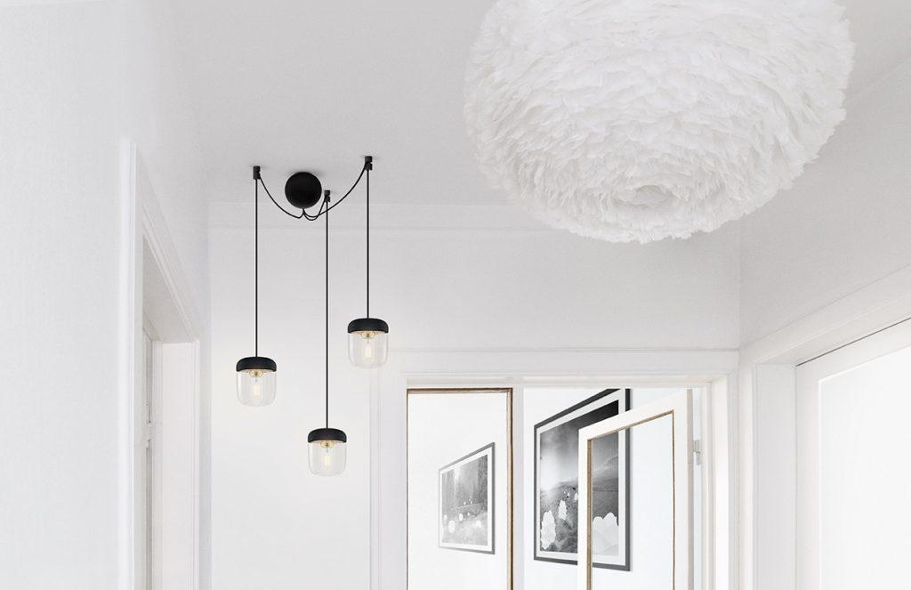 Cannonball Black, trzy kable w oplocie, Pufa Design