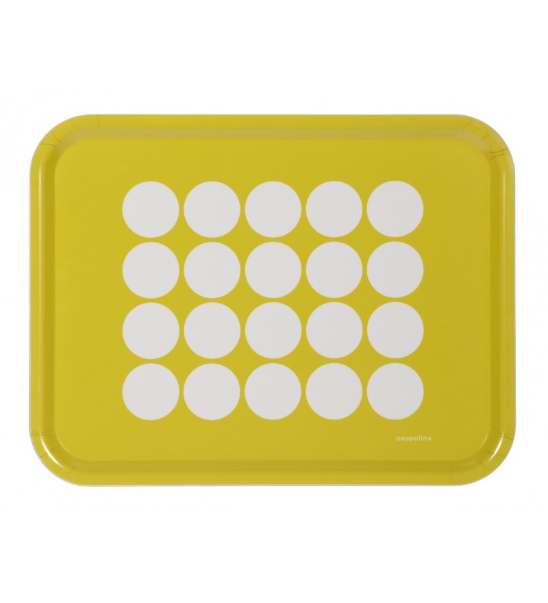 Słoneczna taca Fia - lemon, Pappelina, Pufa Design