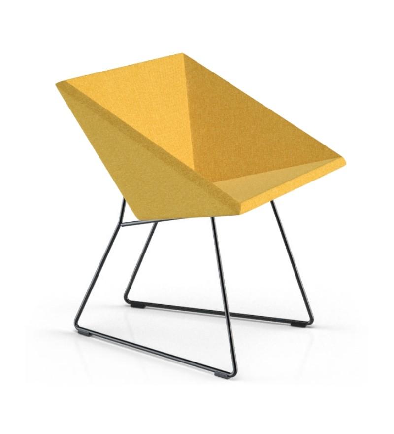Fotel RM57 kolekcja tkanina Medley, Vzór,Pufa Design