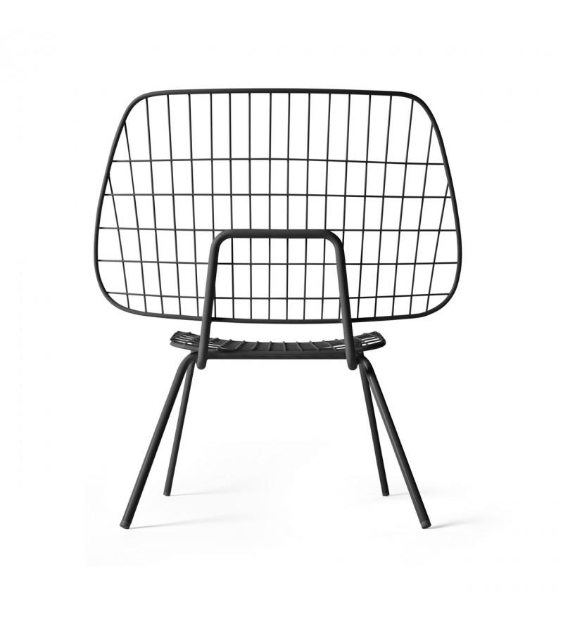 Stylowy detal, wyszukany mebel, krzesło WM String Lounge, Menu, Pufa Design