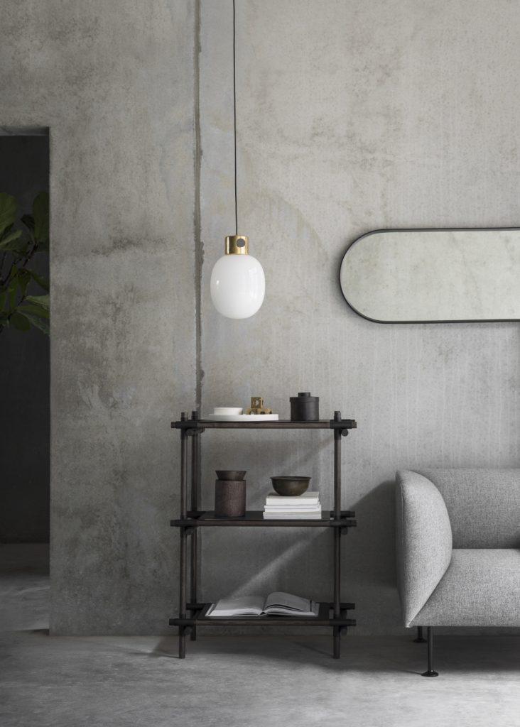 Lustro Norm Wall Oval, Menu, Pufa Design