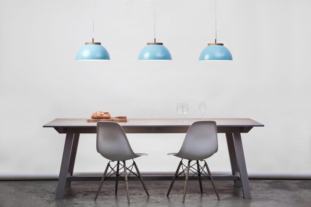 Lampa Dub, turkus, Dreizehngrad, Pufa Design