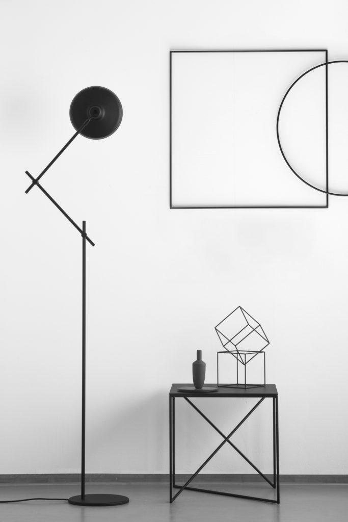 Lampa podłogowa Arigato, dla miłośników Japonii, Grupa Products, Pufa Design