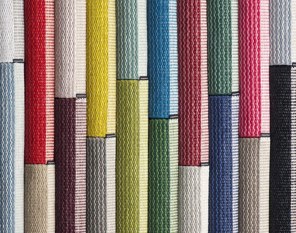 Moc koloru,nowość, kolekcja Mono, Pappelina, Pufa Design