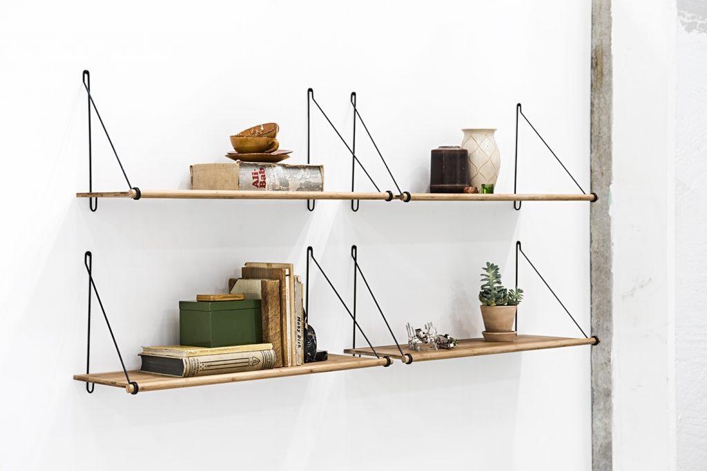 Półki Loop, We Do Wood, Pufa Design