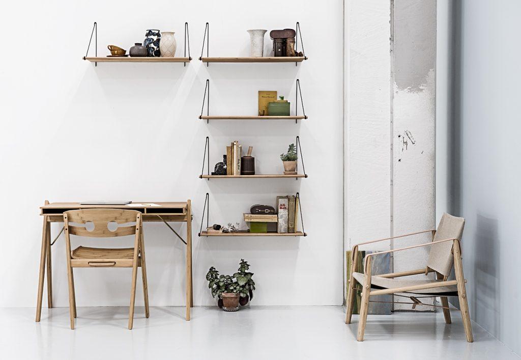 Regał z półek Loop, We Do Wood, Pufa Design