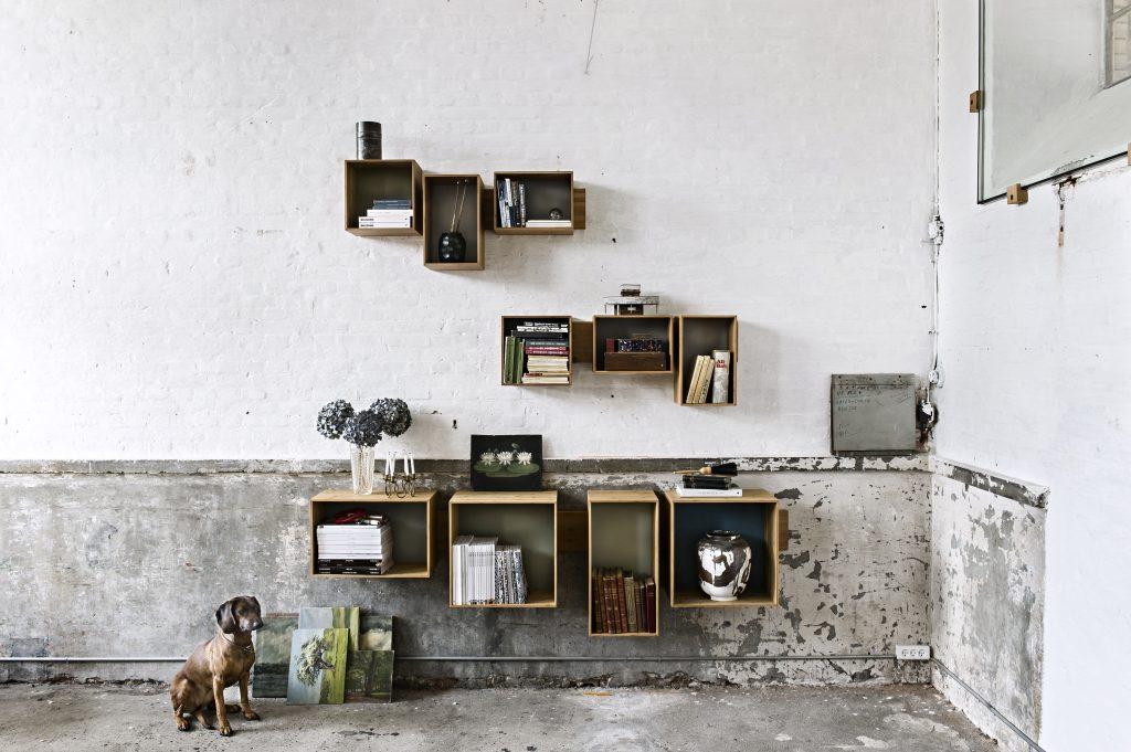 Aranżujesz, tak jak chcesz, półki SJ, We Do Wood, Pufa Design