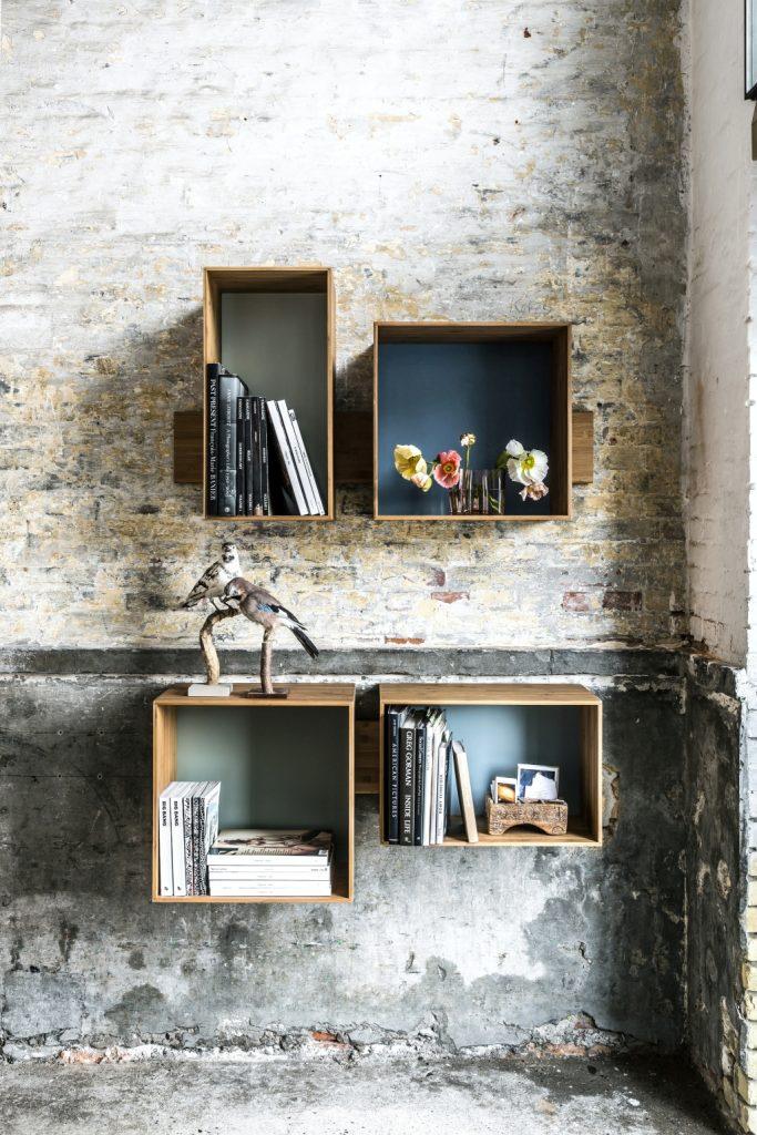Regały, półki na książki SJ, We Do Wood, Pufa Design