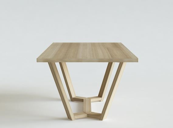 Stół ELM KANT, Iwona Kosicka Design w Pufa Design