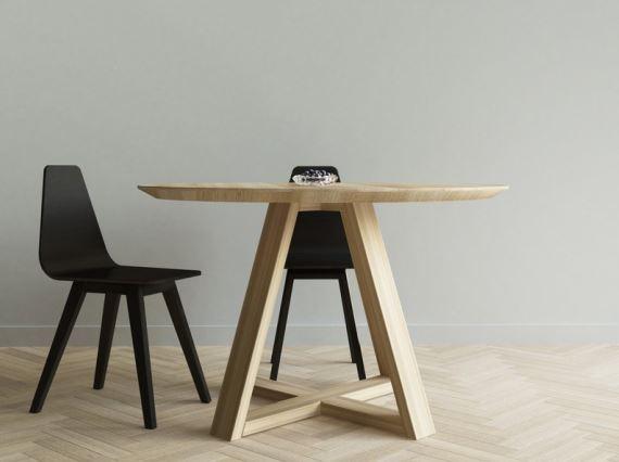 Stół FLOW okrągły, Iwona Kosicka Design