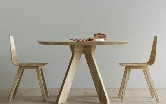 Stół RUNDO, Iwona Kosicka Design w Pufa Design