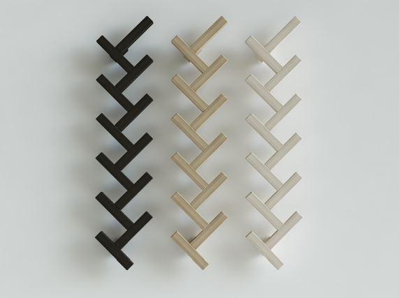 Wieszak JODŁA w trzech odcieniach, Iwona Kosicka Design w Pufa Design