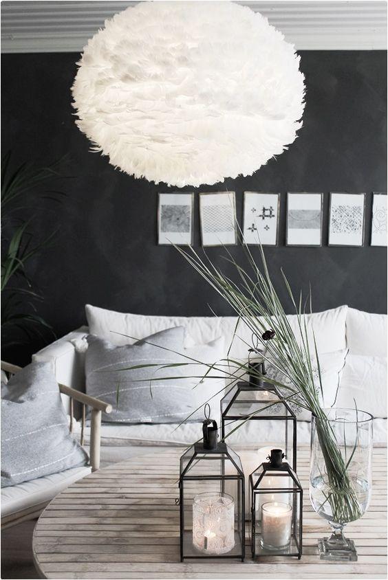 Wnętrze stworzone do siedzenia, jak miło jest zatopić się z książką w wygodnej kanapie, lampa Eos, Vita Copenahgen