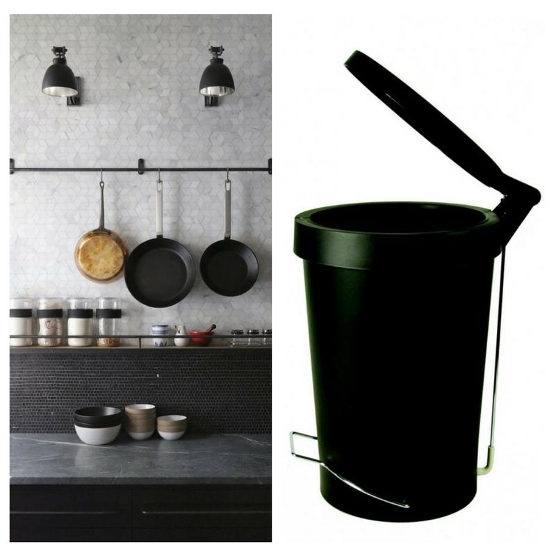 Kosz na śmieci Tip Authentics - 30 l - różne kolory, Pufa Design