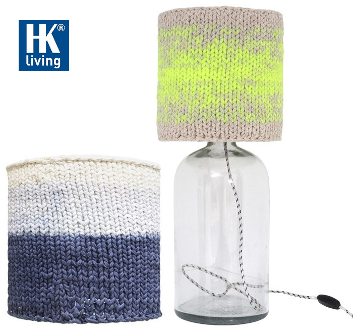 wełniane abażury do lamp HK Living