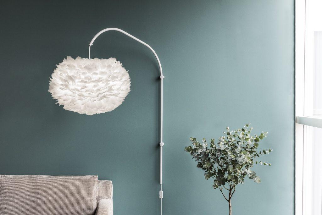 Kinkiet Willow z lampą Eos zestaw nie tylko na zimowy czas