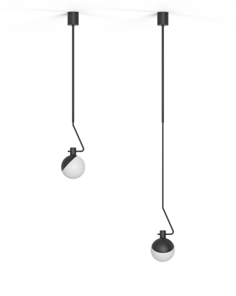 W wiszącym modelu Baluna możemy regulować długość ramienia, Grupa Products, Pufa Design