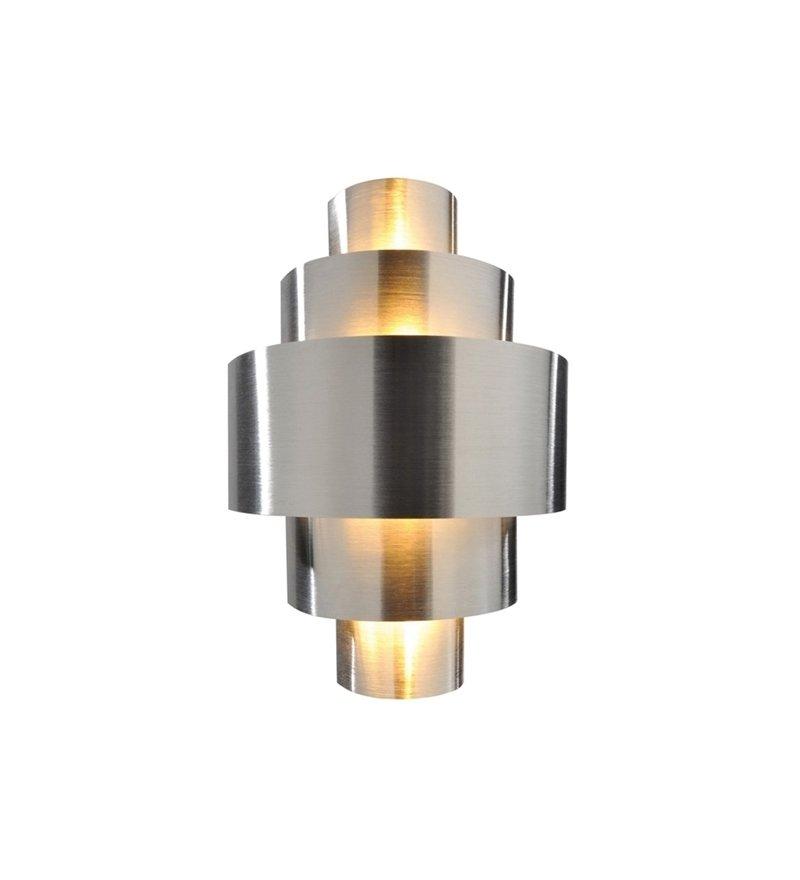 Kinkiet Perfil srebrny jest w nowojorskim stylu, Deko-Light, Pufa Design