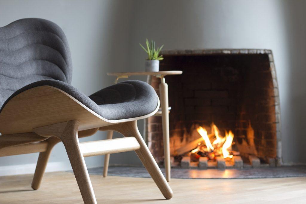 Fotel dębowy 'A Conversation Piece' Vita Copenhagen , różne kolory, Pufa Design