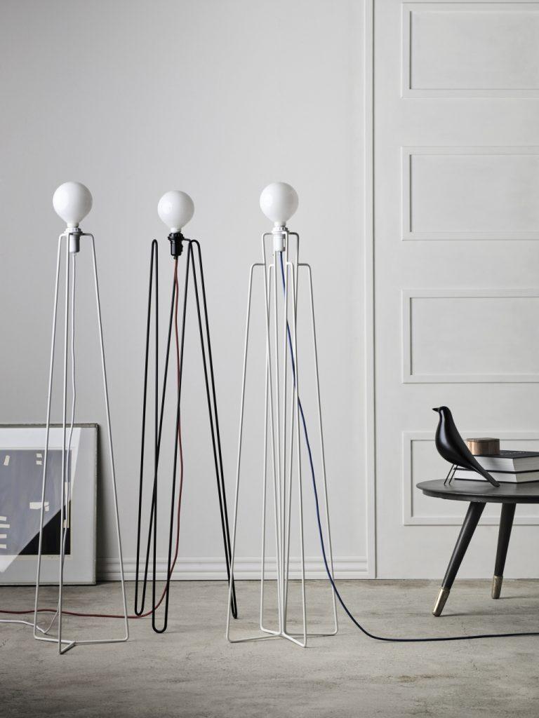 Kolekcja lamp podłogowych Model, Grupa Products, Pufa Design