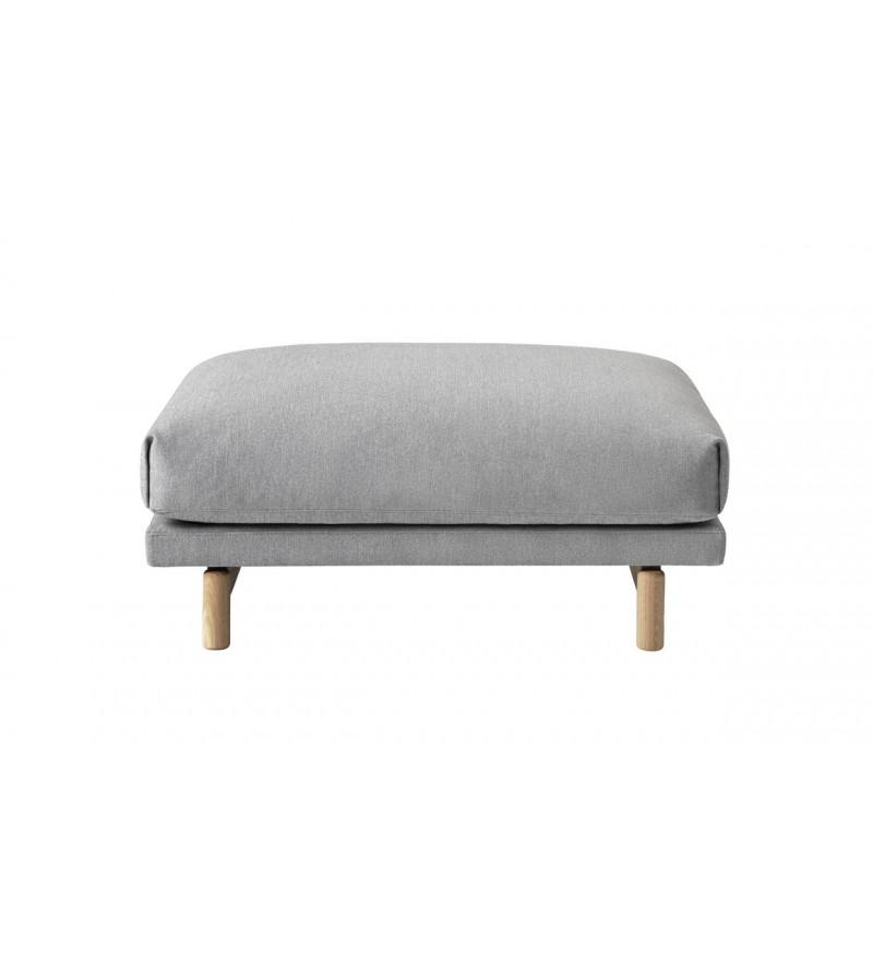 Puf przystosowany do sofy Rest, Muuto, Pufa Design