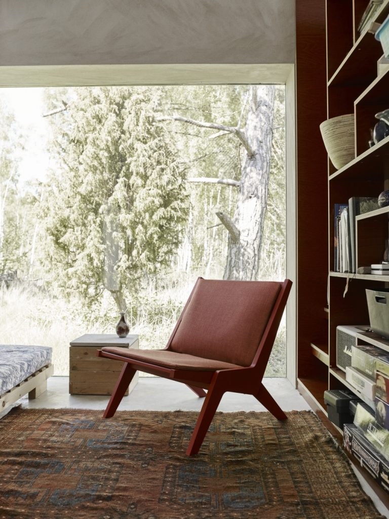 Skandynawski fotel Miskito, Skagerk, Pufa Design