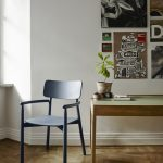 1420013 Hven Armchair, Dark Blue Ash 1