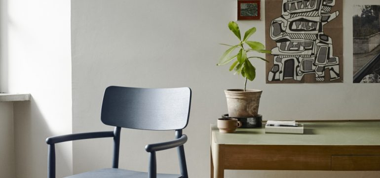 1420013 Hven Armchair, Dark Blue Ash 1
