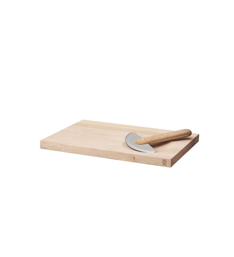 Deska do krojenia z siekaczem do ziół, RIG-TIG, Pufa Design