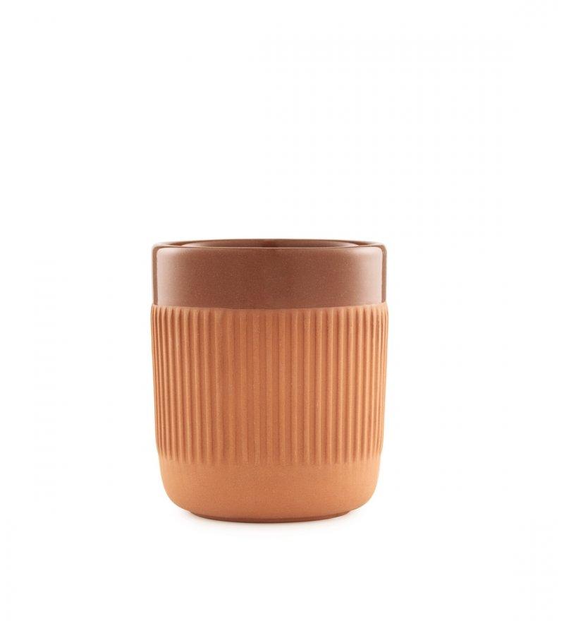 Kubek Junto z delikatnym wzorem, Normann Copenahgen, Pufa Design