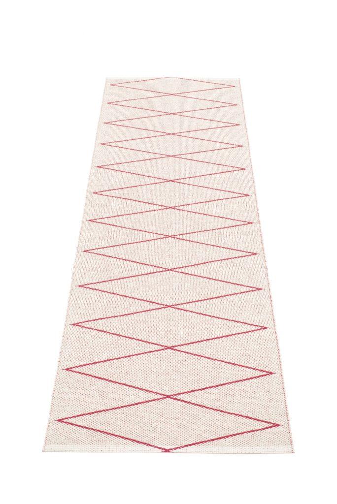 Chodnik Max, dwustronny z delikatnym wzorem, Pappelina, Pufa Design