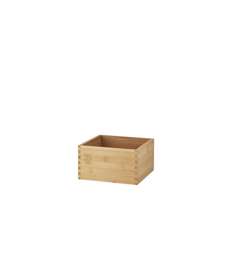 Drewniany pojemnik kuchenny do przechowywania, Woodstock, RIG-TIG, Pufa Design