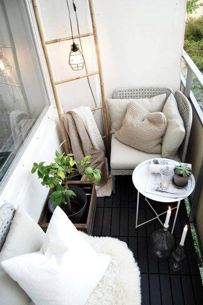 Śniadanie na balkonie, inspiracja fot. Pinterest