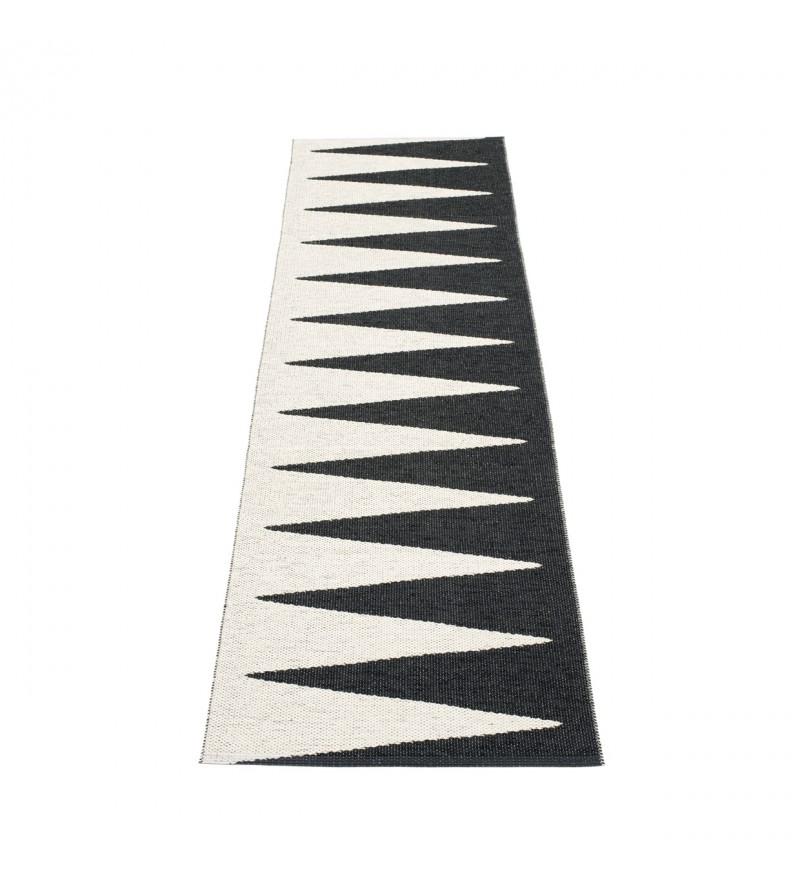 Chodnik VIVI Pappelina - black / vanilla, różne rozmiary, Pufa Design