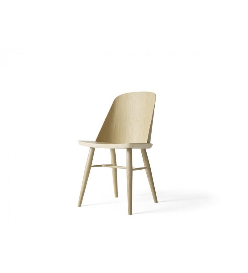 Krzesło drewniane Synnes Dining Chair Menu - dąb, Pufa Design