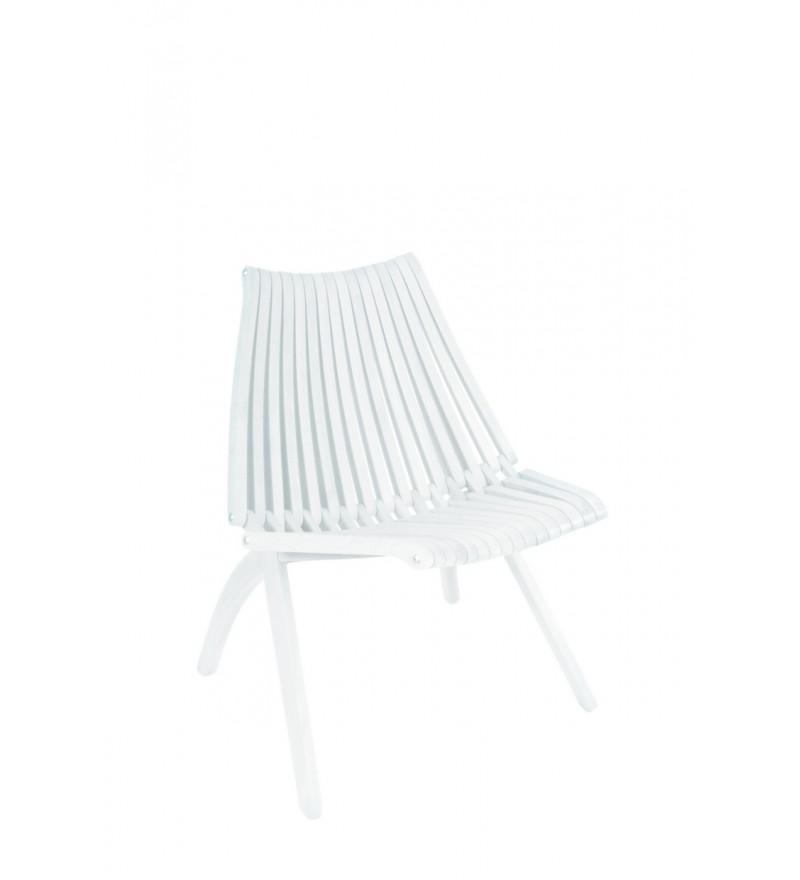 Krzesło LOTOS POLITURA - białe, dostępne w Pufa Design
