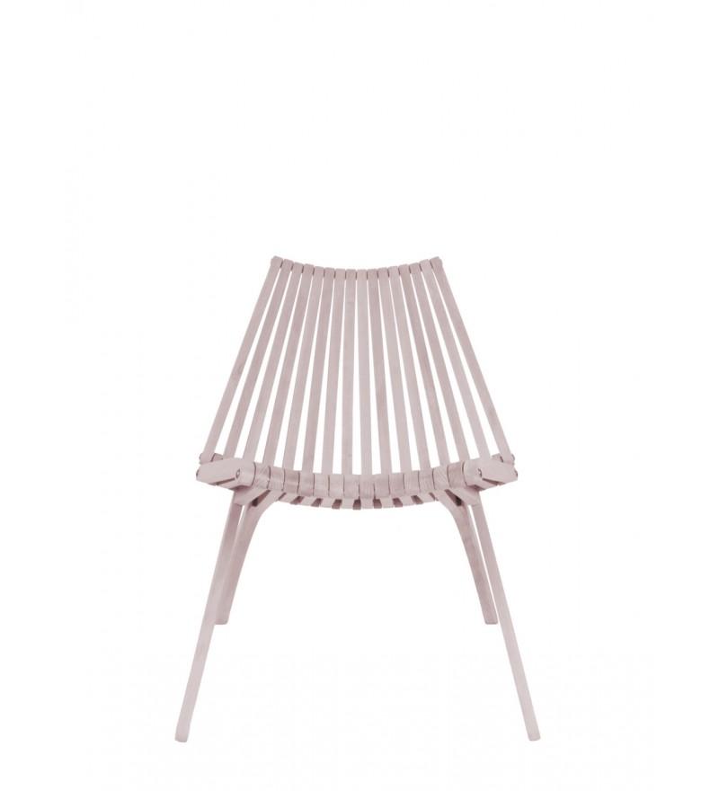 Krzesło LOTOS POLITURA - różowe, dostępne w Pufa Design