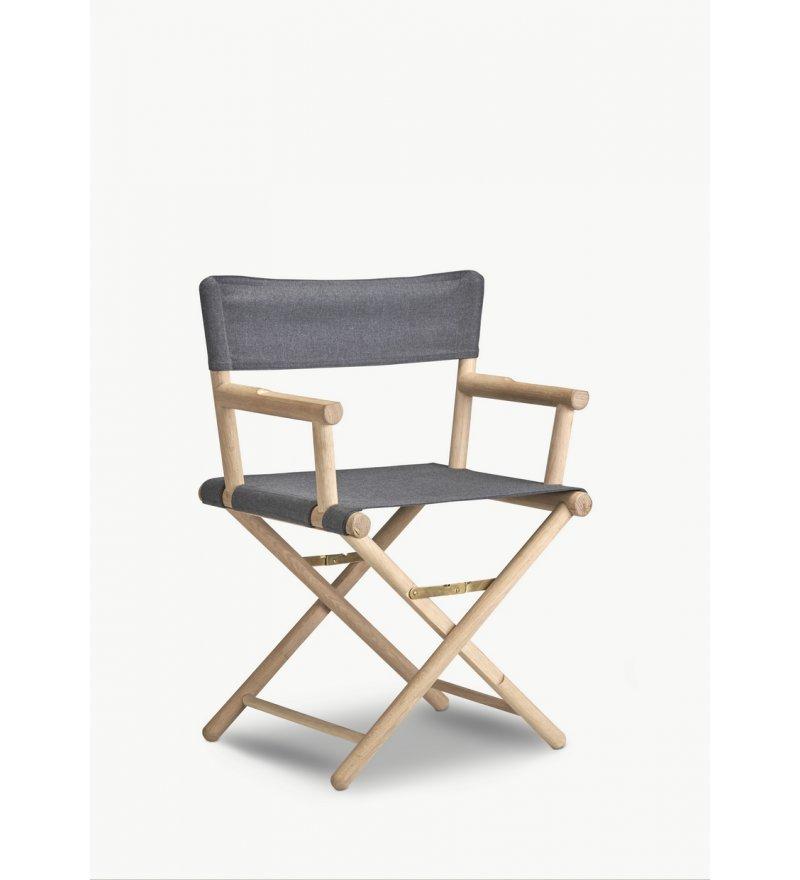 Krzesło składane Junction Skagerak - naturalne drewno dębowe, Pufa Design