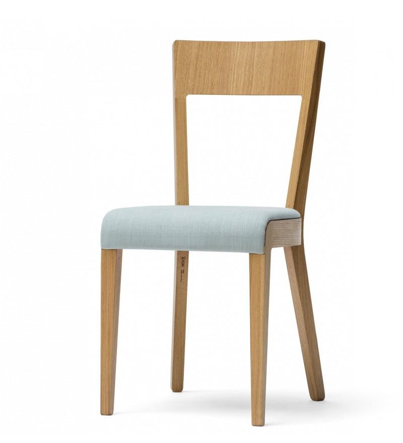 Krzesło tapicerowane ERA, buk, TON dostępne w Pufa Design