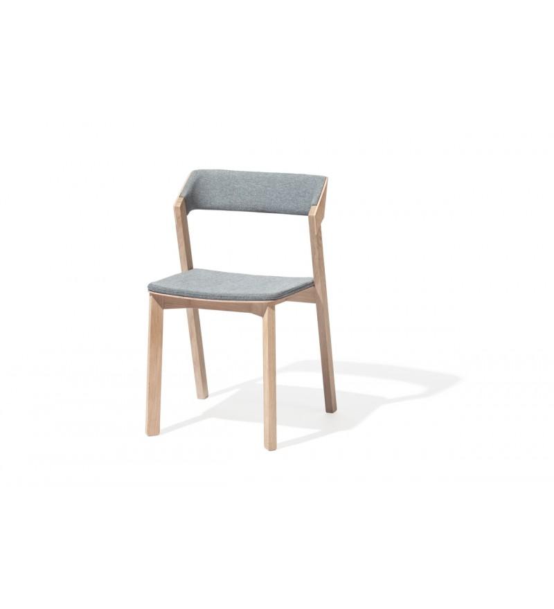Krzesło tapicerowane Merano, TON, Pufa Design
