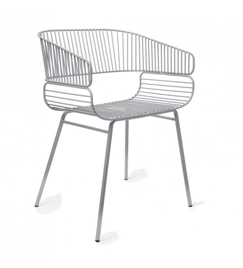 Krzesło TRAME Petite Friture - szare, Pufa Design