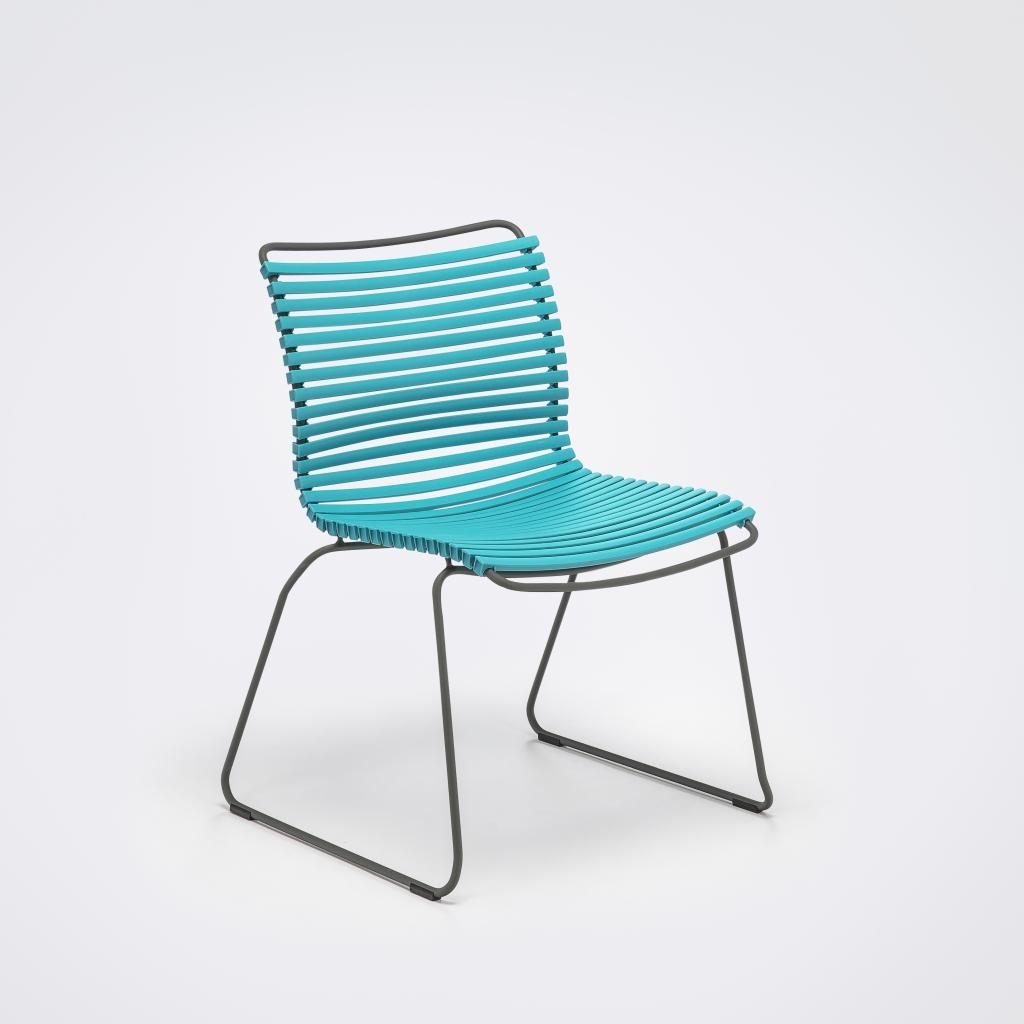 Krzesło ogrodowe Click Dining, szeroka gama kolorów, możliwa wersja z podłokietnikami, Houe, Pufa Design