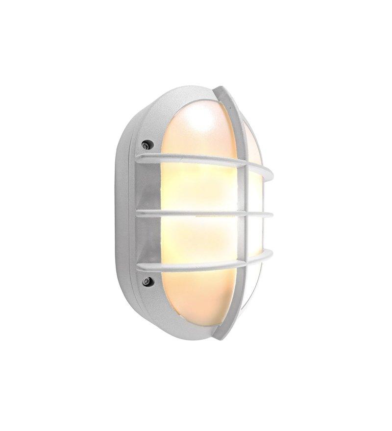 Kinkiet zewnętrzny Ovale II Deko-Light - srebrny, Pufa Design