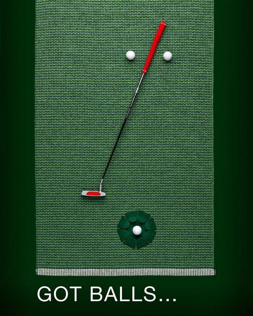 Lubisz grać w golfa a pogoda nie pozwala?