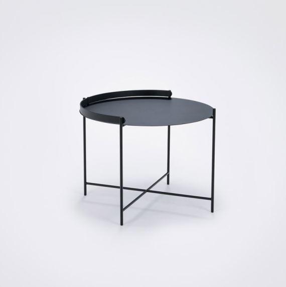 Stolik ogrodowy Edge Tray o średnicy 62 cm, Houe, Pufa Design